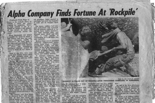 Rockpile 2 from September 1967 Cavalair