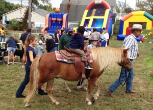 Ponies, petting zoo, and bouncing babies