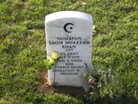 Captain Humayun S.M. Shah, died in Iraqo, June 8, 2004