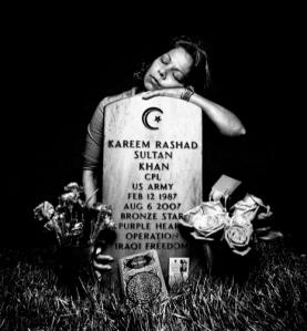 Mother grieves for son, Corporal Kareem Rashad Sultan Khan, died in Iraq, Aug. 6, 2007