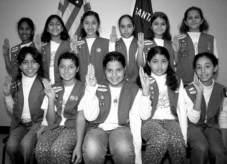 Muslim Girl Scouts
