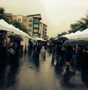 Monsoon at Hyattsville (MD) Arts Festival