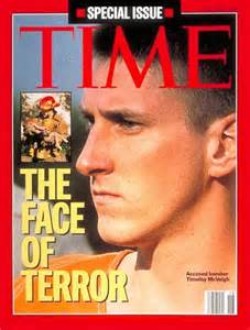 Timothy McVeigh killed 168 people and injured over 800 in Oklahoma City in 1995