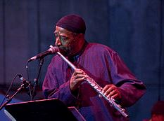 Lateef performing in 2007 at the Detroit Jazz Festival