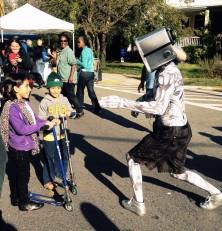 A Robot at Takoma Park