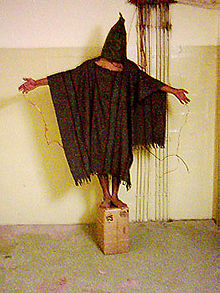 Torture by U.S. Army at Abu Ghraib prison in Iraq in 2003