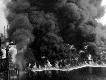 The Burning Cuyahoga River