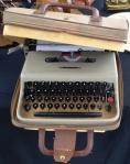 Portable Typewriter and Case