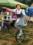 Clown on Unicycle