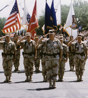Gulf War vets in the DC Memorial Day Parade