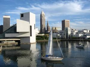 I.M. Pei's Rock & Roll Hall of Fame, Key Tower, Terminal Tower, Louis Stokes Federal Building
